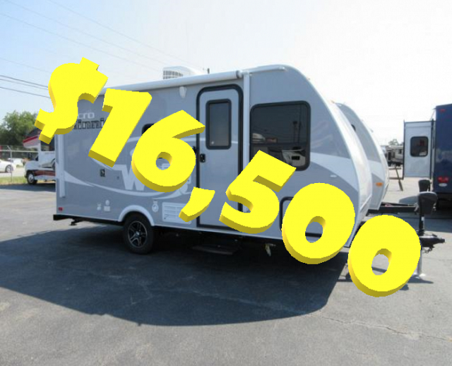 2017 Winnebago Micro Minnie 1700BH